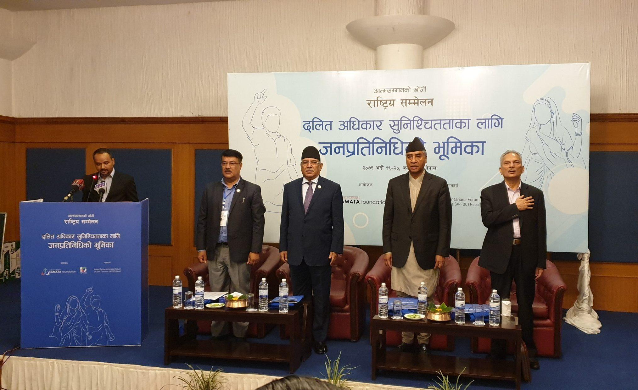 Dalit in Nepal Representation Role